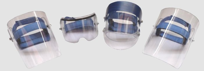the range of visors offered by SD
